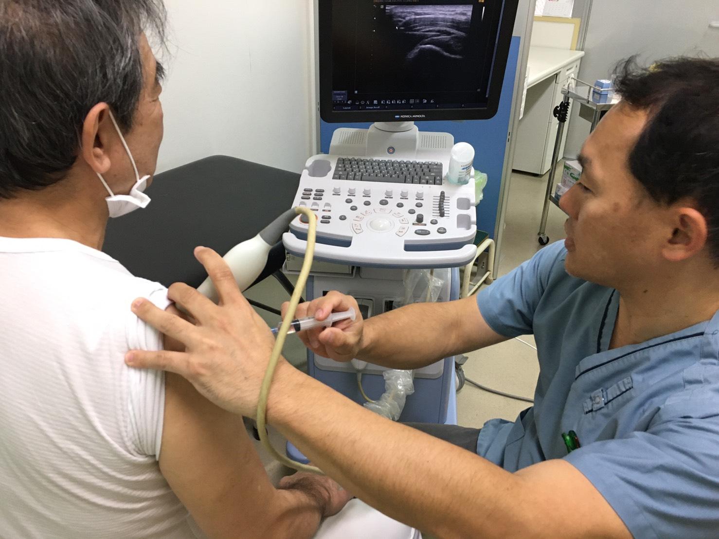 エコー(超音波)を用いた診療